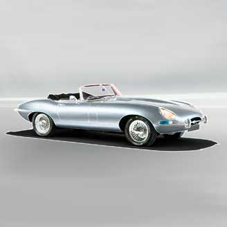 E-Type Jaguar Picture